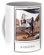 Navigator, 19th Century Coffee Mug