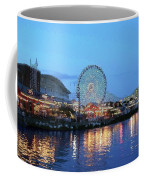 Navy Pier Chicago Digital Art Coffee Mug