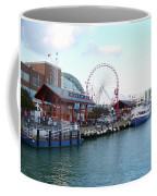 Navy Pier Chicago Summer Time Coffee Mug