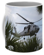 Navy Seals Look Out The Helicopter Door Coffee Mug