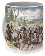 Nc: Freed Slaves, 1863 Coffee Mug