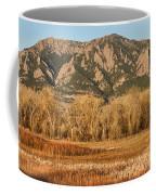 Ncar And Flatiron View Boulder Colorado   Coffee Mug