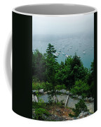 Ne Harbor Maine Seen From Thuya Gardens Mt Desert Island  Coffee Mug