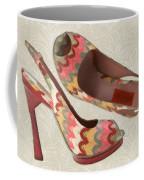 Needlepoint Peep Toes Coffee Mug