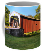Neff's Mill Covered Bridge In Lancaster County Pa. Coffee Mug