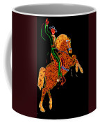 Neon Cowboy Las Vegas Coffee Mug by Garry Gay