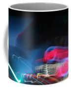 Neon Nights Coffee Mug by Rick Rauzi