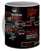 Neon Signs, 1937-1971 Coffee Mug by Granger