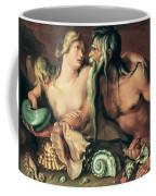 Neptune And Amphitrite Coffee Mug by Jacob II de Gheyn