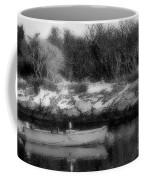 New England Skiff Bw Coffee Mug