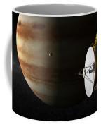 New Horizons Flies By Jupiter Coffee Mug
