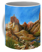 New Mexico Highlands In Spring Coffee Mug