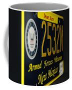 New Mexico Tag Coffee Mug