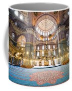 New Mosque Interior In Istanbul Coffee Mug