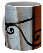 New Oleans White And Orange Coffee Mug