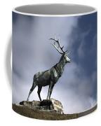 New Orleans Stag Statue Coffee Mug