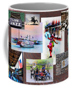 New Orleans The Birthplace Of Jazz Coffee Mug
