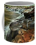 New River Waterfall Coffee Mug