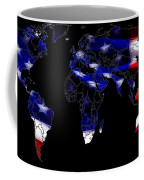 New World Map Coffee Mug