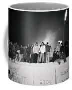 New Year At The Berlin Wall Coffee Mug
