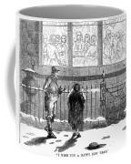 New Years Eve, 1859 Coffee Mug