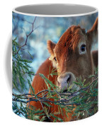 New Years Morning Cow Coffee Mug