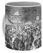 New York: Bandstand, 1869 Coffee Mug