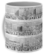 New York: Broadway, 1851 Coffee Mug
