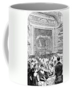 New York Charity Ball, 1884 Coffee Mug