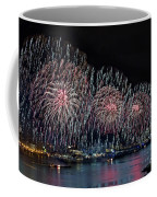 New York City Celebrates The 4th Coffee Mug by Susan Candelario