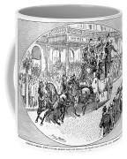New York: Coaching, 1876 Coffee Mug