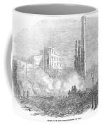 New York: Fire, 1853 Coffee Mug