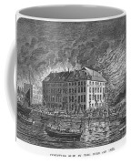 New York: Fire Of 1835 Coffee Mug