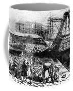 New York: Immigrants, 1854 Coffee Mug