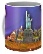 New York In Las Vegas Coffee Mug by Nicholas  Grunas