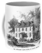 New York Mansion, 1748 Coffee Mug