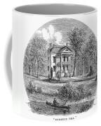 New York: Mansion, 1760 Coffee Mug