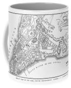 New York: Maps Coffee Mug