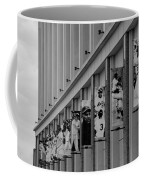 New York Mets Of Old  In Black And White Coffee Mug