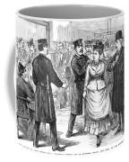 New York Police Raid, 1875 Coffee Mug