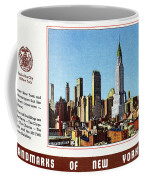 New York: Skyscrapers Coffee Mug