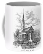 New York: Trinity Church Coffee Mug