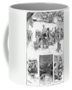 New York: Wash Day, 1889 Coffee Mug