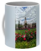 Newport Beach Temple Roses Coffee Mug