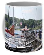 Newport Vermont Marina Coffee Mug