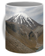 Ngauruhoe Cone And Upper Tama Lake Coffee Mug