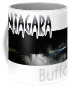 Niagara At Night Coffee Mug