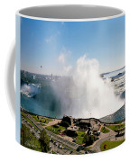 Niagara Falls From Above Coffee Mug