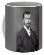 Nicholas II From Russia Coffee Mug