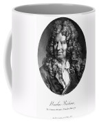 Nicolas Boileau (1636-1711). French Critic And Poet. Lithograph, French, 19th Century Coffee Mug